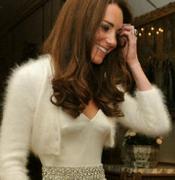 Mariage princier: découvrez deuxième robe Kate Middleton