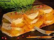 Terrine foie gras peches