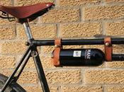 Life beautiful bike with bottle wine