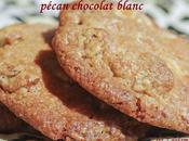Cookies chocolat blanc, noix pécan beurre salé