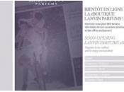 Lanvin parfums ligne