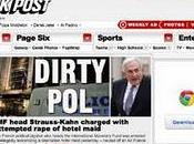presse américaine déchaîne l'inculpation Dominique Strauss-Kahn