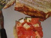 Cake sadwich roquefort blanc poulet.