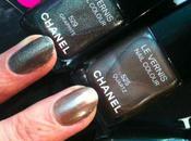 Vernis Chanel Péridot, Graphite, Quartz