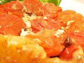 Tatin tomates, chèvre tapenade