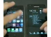 Comparaison entre l'iPhone Samsung Galaxy