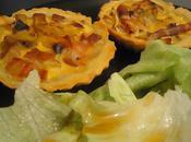 Tartelettes poireaux lardons