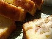 Cake amande rhubarbe
