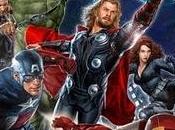 Premier aperçu l'affiche Avengers.
