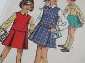 Quatre nouveaux patrons vintage pour fillette dans boutique ligne