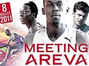 Usain Bolt retour Paris pour meeting Areva