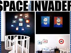 points rouges Space Invader
