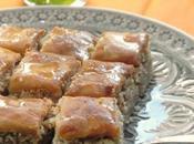 Baklawas with Almond Pecan Daring Baker Challenge amandes noix pécan