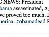 compte Twitter chaîne News annoncent l'assassinat d'Obama suite piratage