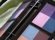 Maquillage bleu violet
