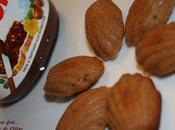 Mini madeleine nutella