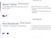 Sony Ericsson Walkman, TxT, Xperia active