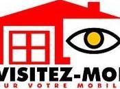 Pratique visite virtuelle d'appartements téléphone mobile