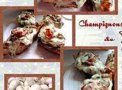 Baguettines champignons
