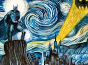 Good as... Batman Vincent Gogh