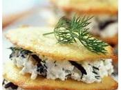 Tuiles fromages olives...