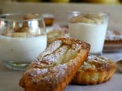 Financiers poires mousse