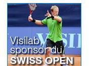 Tennis vidéo pour société Visilab durant l'Open Gstaad