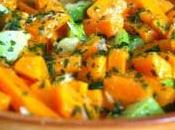 Salade carottes courgettes chermoula