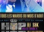 Hip-hop loves electro vegas with (tous mardis)