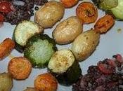 Brochettes légumes marinade