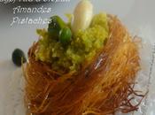Ktayef d'oiseau amandes pistaches