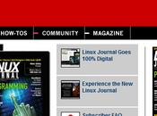 Plus version papier pour Linux Journal