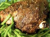 Gigot d'agneau marocaine