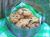 Biscuits cranberries muesli.