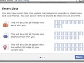 Facebook commencé tester Auto-Groupement amis dans Smart Lists