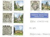 Châteaux nouveaux timbres croates
