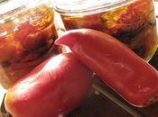 Tomates séchées micro onde confites l'huile herbes provence