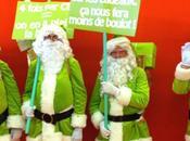 Père Noël changé couleur