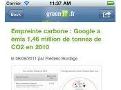 GreenIT.fr iPhone