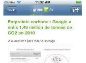 GreenIT.fr iPhone