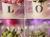 Centres table mariage LOVE