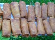 Boureks Cigares Crevettes, filets poisson pommes terre,