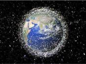 L'espace saturé débris spatiaux