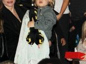 troupe Pitt-Jolie rend visite Gwen Stefani Londres