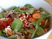 Salade boeuf thaï