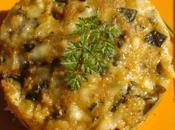 Moelleux courgettes mozzarella