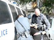 Violences policières contre palestiniens