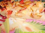 Clafoutis tiède pommes