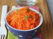 Salade carottes l'orange