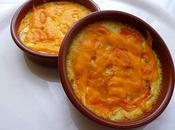 Crème gratinée carotte, orange, cumin mimolette